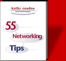 Tell a friend about Kathy Condon, career facilitator and business communication expert